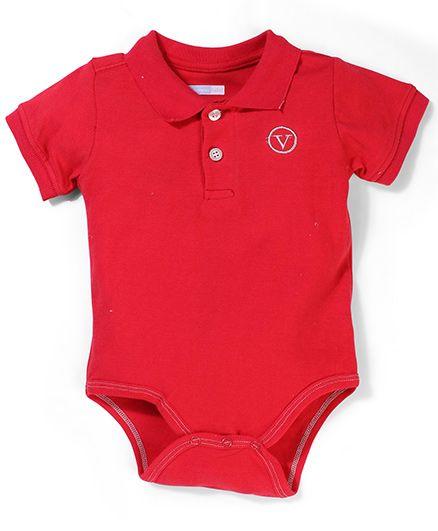 Vitamins Baby Onesie - Red