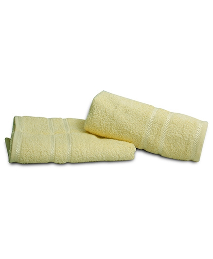 Sassoon Plain Dyed Bath Towel - Lemon Yellow