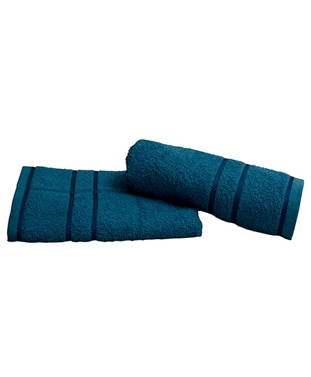 Sassoon Plain Dyed Bath Towel - Teal Blue