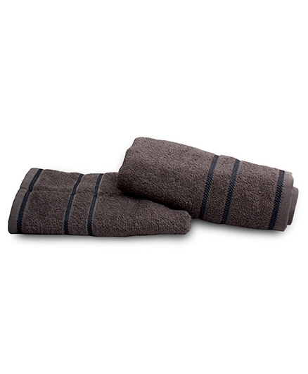 Sassoon Sandy Cotton Towel - Steel Grey