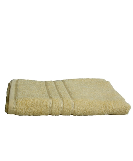 Sassoon Sandy Cotton Bath Towel- Lemon Yellow