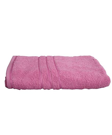 Sassoon Sandy Cotton Bath Towel - Pink