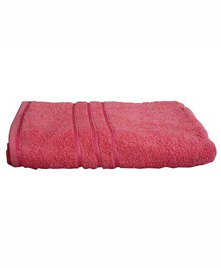 Sassoon Plain Towel - Blossom
