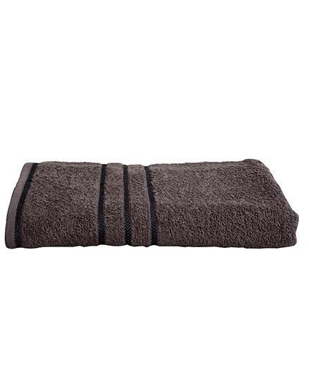 Sassoon Sandy Cotton Bath Towel - Steel Grey