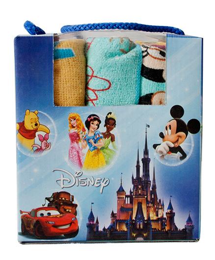 Disney Printed Face Towel - Multi Color