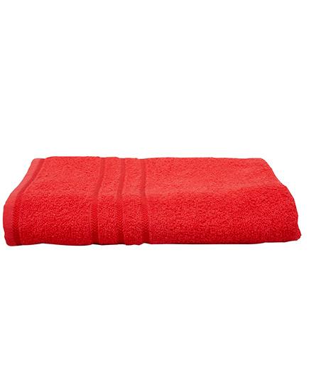Sassoon Sandy Cotton Bath Towel - Red