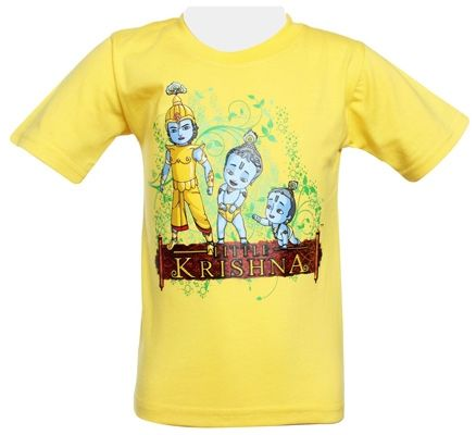 Little Krishna - Half Sleeves T-Shirt
