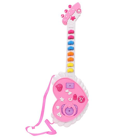 Musical Baby Guitar Toy - Pink