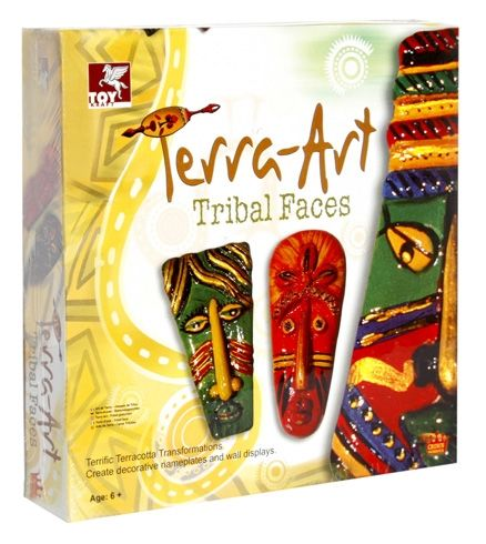 Toy Kraft - Terra Art Tribal Faces