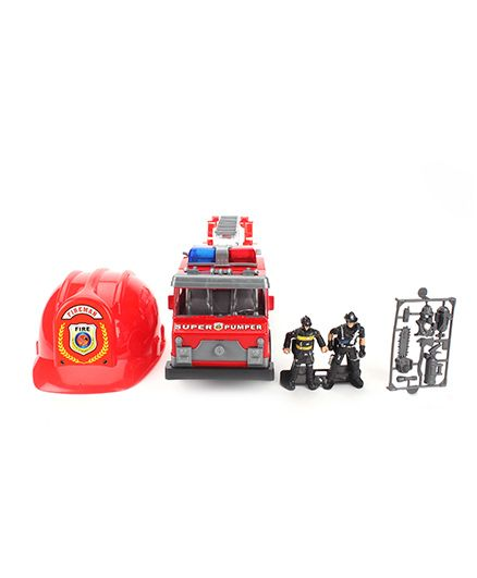 Fire Rescue Vehicle Toy - Red