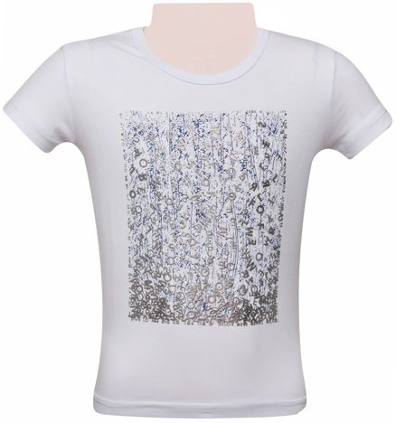 Half Sleeves T-Shirt - Alphabets