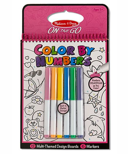 Melissa & Doug Color By Numbers