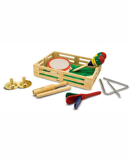 Melissa & Doug Band In A Wooden Box Set
