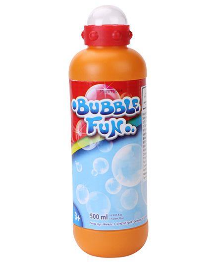 Simba Bubble Fun Bubble Mix Orange - 500 ml
