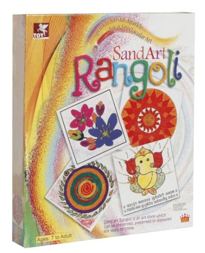Toy Kraft - Sand Art Rangoli