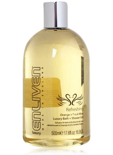 Enliven Luxury - Refreshing - Orange & Fresh Mint Bath & Shower Gel