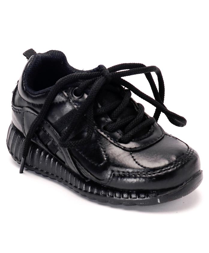Force 10 School Shoes - Black