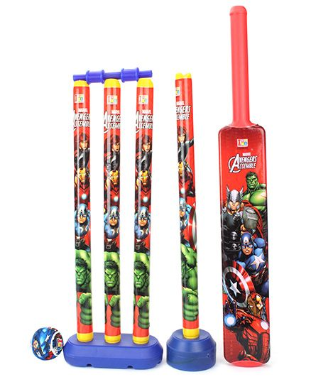 Marvel Avengers 4 Wicket Cricket Set