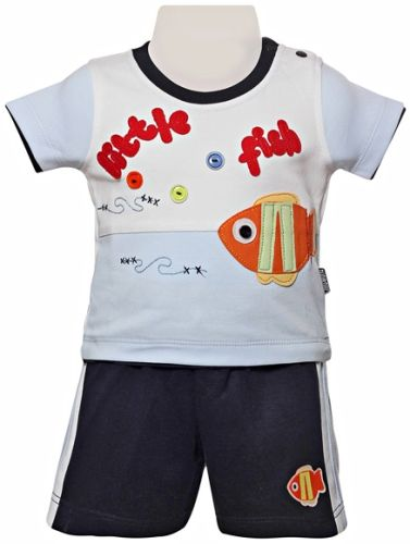 Child World - Half Sleeves T-Shirt & Shorts Set