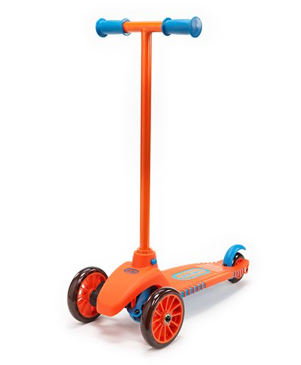 Little Tikes Lean to Turn Scooter - Blue & Orange