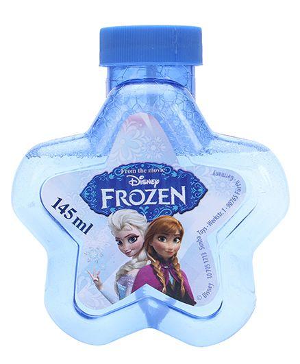 Disney Frozen Star Shape Bubble Solution - 145 ml