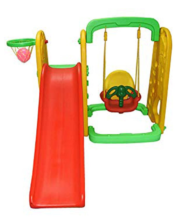 Playgro Toys Elephant Slide With Swing - PGS-215