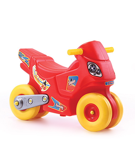 Playgro Toys Speedy Pull N Scoot Red & Yellow - PGS-705