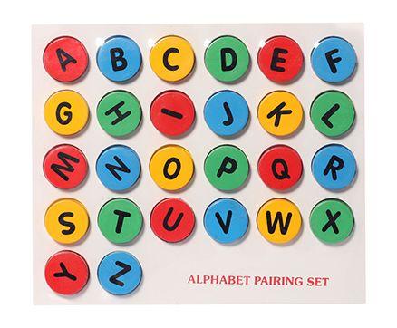 Wooden Alphabet Pairing Set