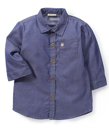 Timeless Fashion Solid Shirt - Blue