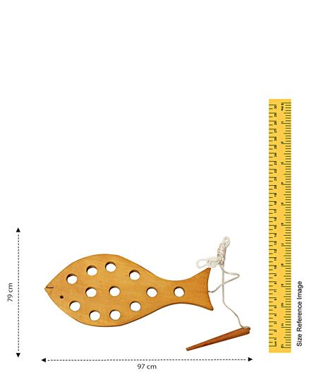 Little Genius - Lacing Fish Wooden Toy