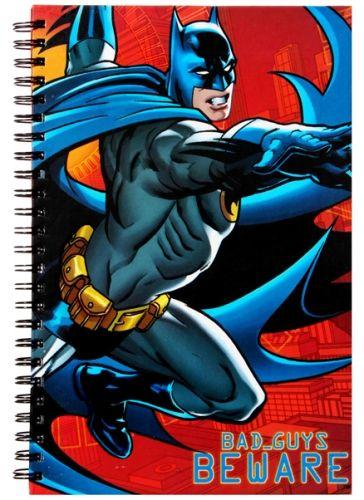 Batman Bad Guys Beware Notebook