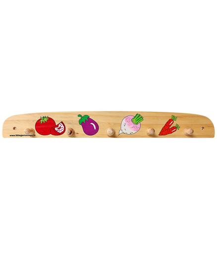 Little Genius - Wooden Hanger Vegetables
