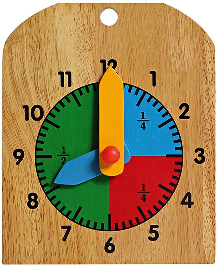 Little Genius - Wooden Learning Clock