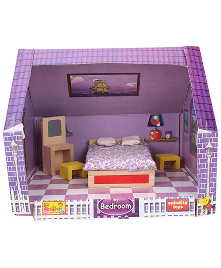 Anindita Toys DIY Miniature Bedroom Set