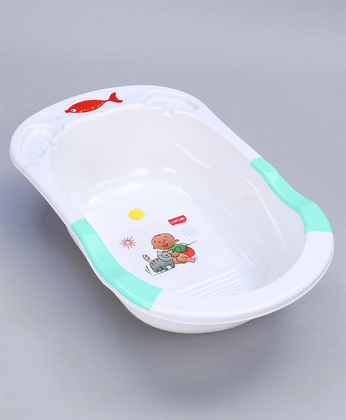 Luv Lap Baby Bath Tub Green - 18189