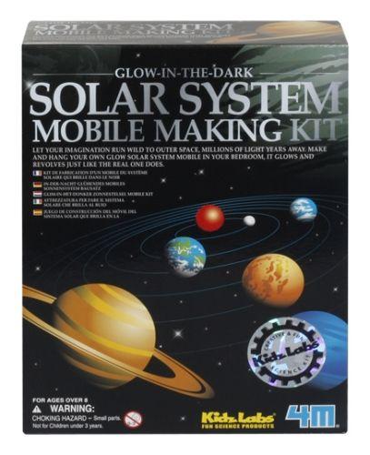 Kidz Labs 4M - Solar System Mobile Making Kit
