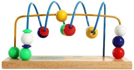 Little Genius Wooden Beads Shuttles Spiral