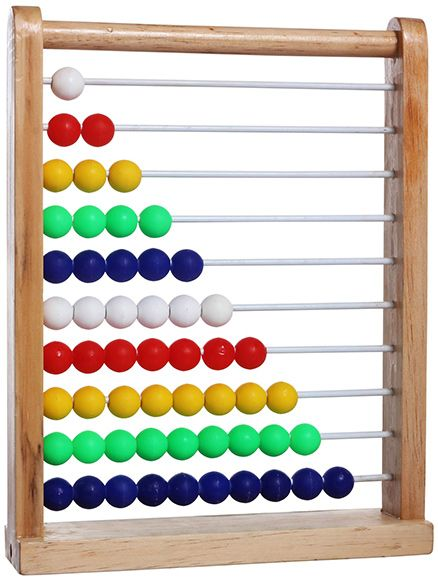 Little Genius Wooden Abacus Small