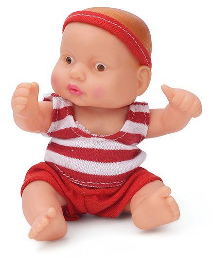 Speedage Chintoo Junior Doll Red - 12 cm