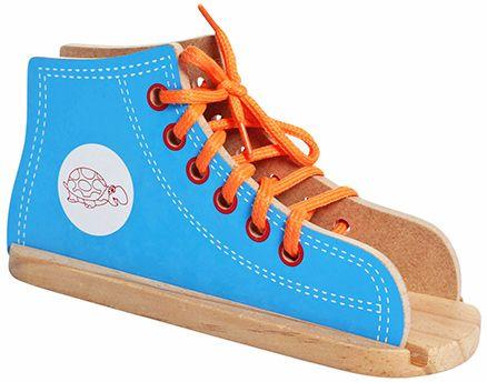 Little Genius - Wooden Lacing Shoe