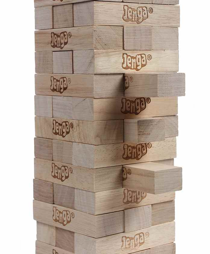 Funskool Jenga The Original Wood Block Game
