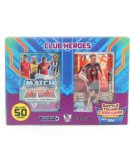 Topps Mapl Battle Trump Card Club Heroes Game - Multicolor