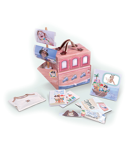 Gifthing Pirate Hamper - Pink