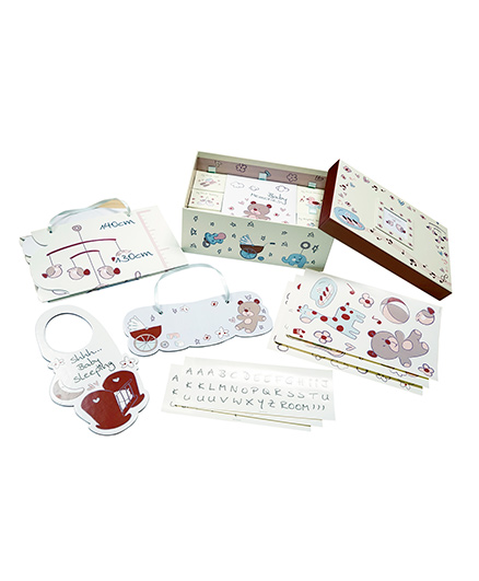 Gifthing Baby Object Room Deco Set - Multicolor