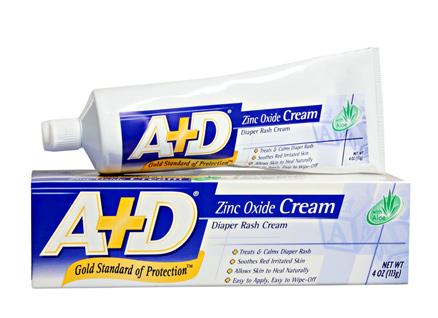 A+D® Diaper Zinc Oxide Cream (Diaper Rash Cream)