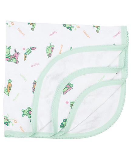 Tinycare Bath Towel - Green