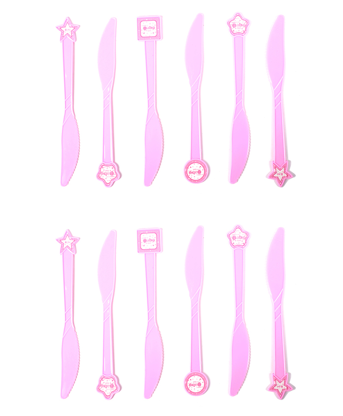 Funcart Little Baby Theme Knife - Pink