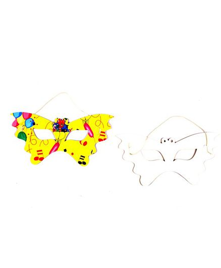 Funcart Colorful Balloons Theme Eye Mask - Pack of 6