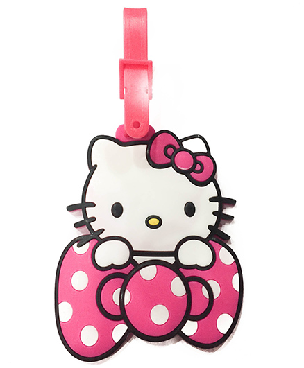 Funcart Hello Kitty Luggage Tag - Pink Bow