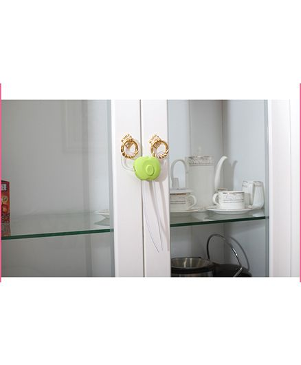 Blossoms Flexible Cabinet Latch - Green